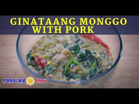 Ginataang Monggo with Pork Recipe