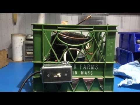 DIY Cheap Vacuum Pump From Refrigerator/Freezer Compressor BHO