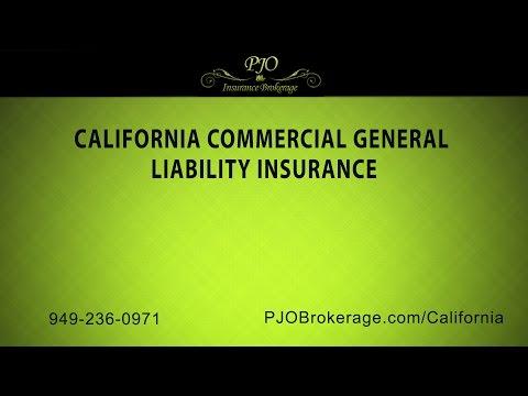 Orange County CA Commercial General Liability Insurance By PJO