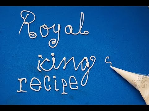 Fast 2-cups Royal Icing Recipe