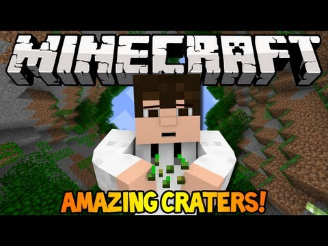 Minecraft 1.6.4 Seed Spotlight - AMAZING CRATERS!