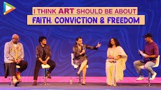 "Swara On Vidya's Dialogue: ""I DON'T Believe - FILMS are just ENTERTAINMENT"" | Sheer Qorma | Divya"