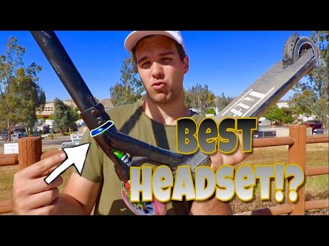FASTEST SCOOTER HEADSET BEARINGS?! BEST FOR TAILWHIPS