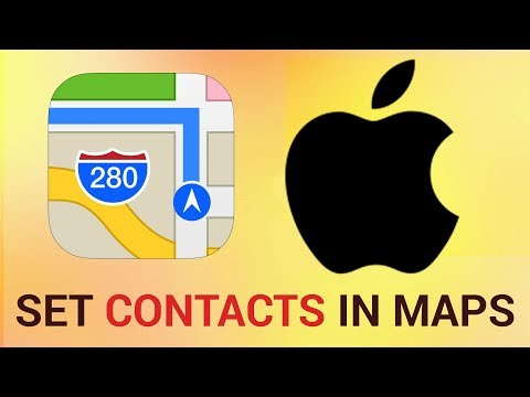 How to Set Contacts for Home, Work & Favorites in Maps on iPhone and iPad