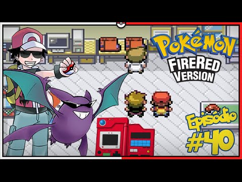 Pokémon Fire Red Let's Play #40: Finalmente a National Pokédex e o Crobat