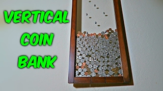 Vertical Coin Bank