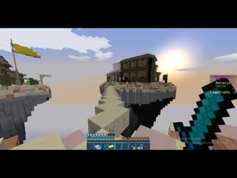 Minecraft: Egg Wars - Hack!? fly!?