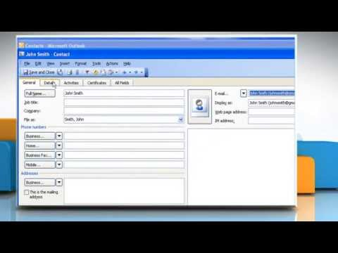 Microsoft® Outlook 2003: Fix the issue in Windows® XP (Part 3)