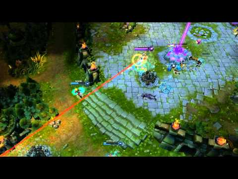 League of Legends   How after trow does few seconds matter ( comeback )