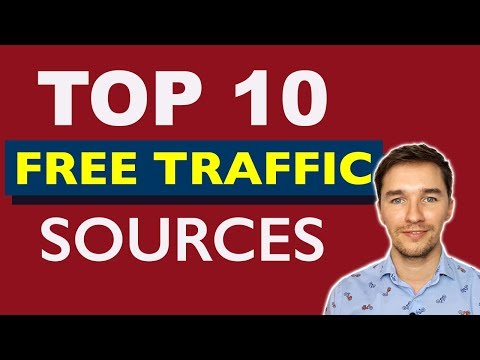 Top 10 Free Website Traffic Sources for Affiliate Marketing - NO INVESTMENT NEEDED
