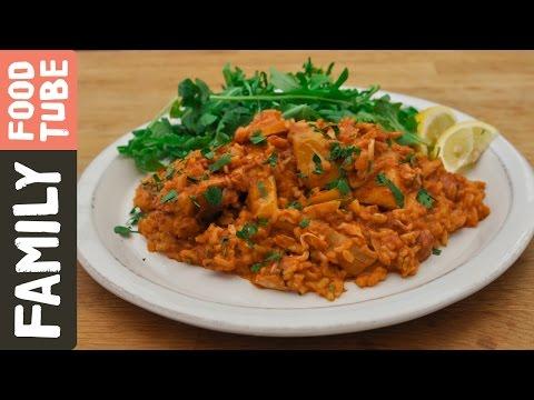 Chicken & Chorizo Stew | Kitchen Daddy