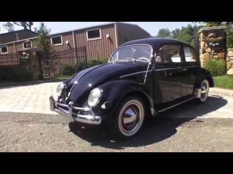Classic VW BuGs 1956 Oval Window Beetle FOR SALE Walk Around VIDEO