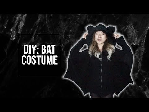 DIY: BAT HALLOWEEN COSTUME | helen