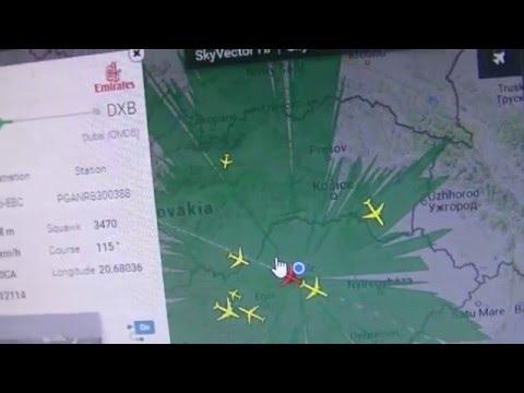 AirNav RadarBox ComStation Miskolc Hungary