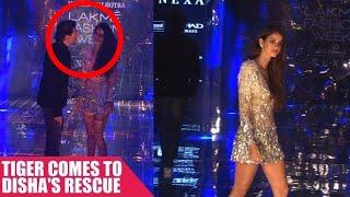 Tiger Shroff Saves Disha Patani From An Awkward Moment