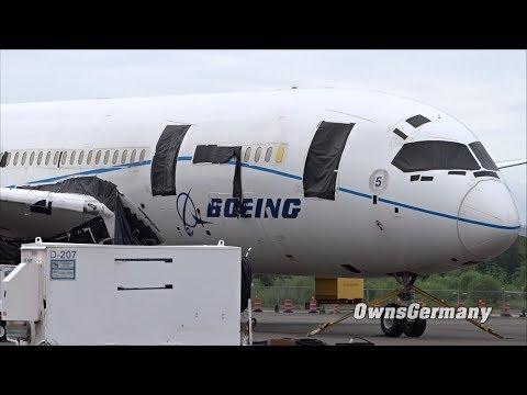 5th Built Boeing 787 Dreamliner Looking Sad B4 Dismantling @ KPAE Paine Field