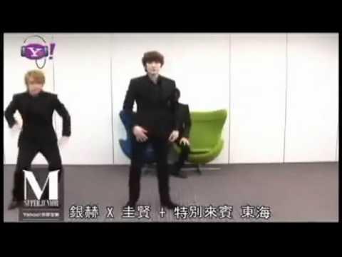 Full Yahoo - Eunhyuk Teaching perfection dance (eng sub)
