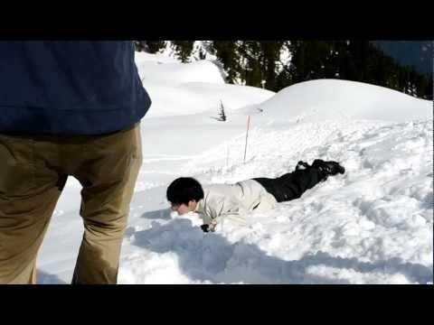 Steven Cramps Hiking Fail & win
