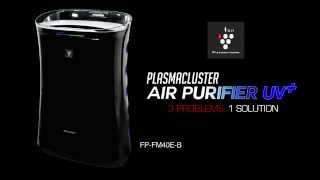 SHARP FP-FM40E-B Air Purifier with Built-In Mosquito Catcher