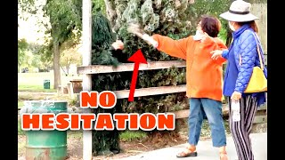 HILARIOUS Bushman Prank Reactions |