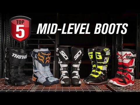 Top 5 Mid-Level Motocross Boots