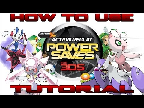 How To Tutorial: Action Replay Power Saves For 3DS