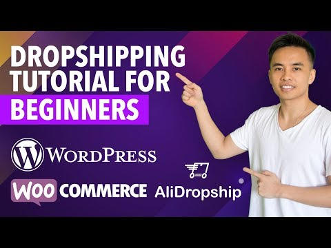 Create a Profitable Dropshipping Store from Scratch in 2018! (WordPress, AliDropship, WooCommerce)