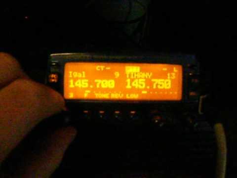 Kenwood TM-V7 2m Repeaters