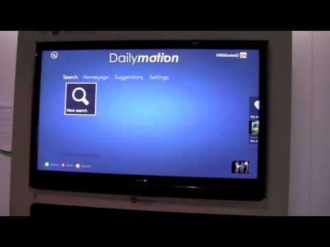 CES 2012:  DailyMotion and Xbox