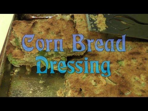 Super Simple Corn Bread Dressing
