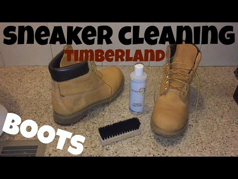 Sneaker Cleaning for Timberland Boots + How to Clean Dirt and Stains Off Your Tims