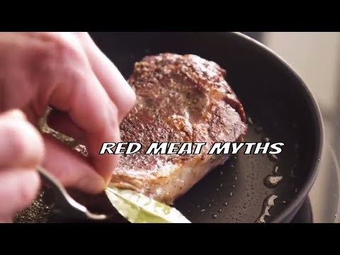F.A.S.T. Top 5 myths about red meat