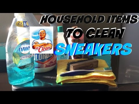 Tip Tuesday #1 Household Items To Clean Sneakers