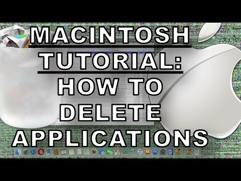 Mac How To Delete Apps On OS X - Macintosh Fast Tutorial : Deleting Applications