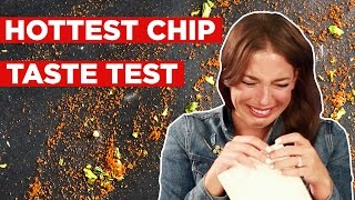 People Try To Eat The World's Hottest Chip
