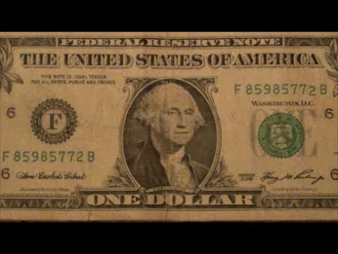 $1 BILL CHECK OUT THIS STRANGE SERIAL NUMBER