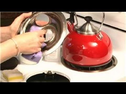 Cleaning The Kitchen : How to Clean a Stove With Stuck Grease