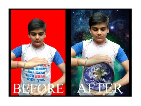 How to change the Background in Photoshop 7