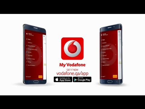 Introducing the My Vodafone app!