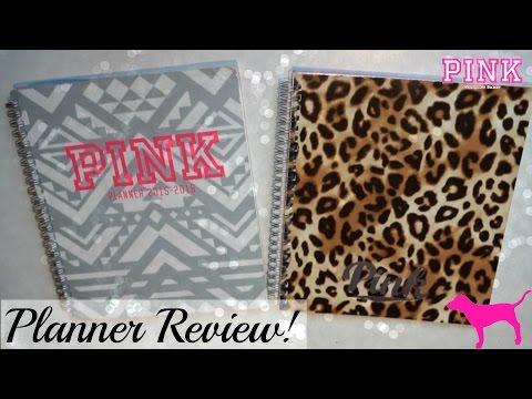 Victoria's Secret PINK Planner Review!