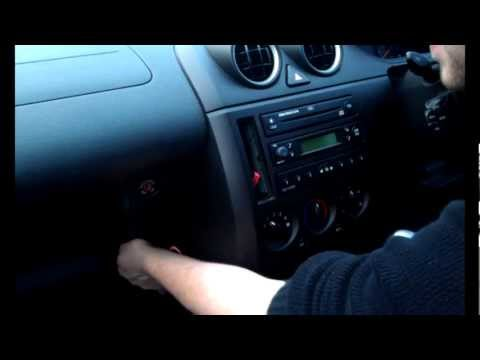 Radio Removal Ford Fiesta Triple Dash (2002 - 2008) | JustAudioTips