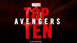 Marvel Top 10 Avengers