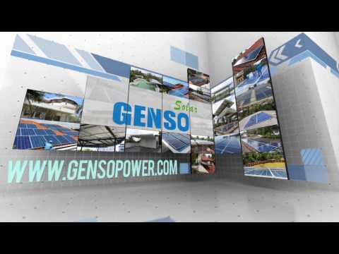 Genso Solar Power Promotional Video 2016