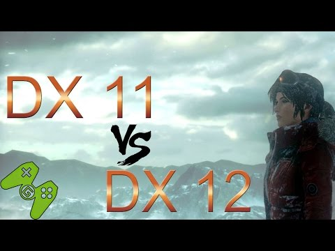 DirectX 11 VS DirectX 12 - auf Win 8.1 und Win 10 - Rise of the Tomb Raider