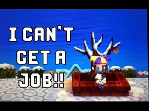 Animal Crossing New Leaf #7 - Fail Part time Job!