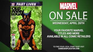 Marvel NOW! Titles for April 26th