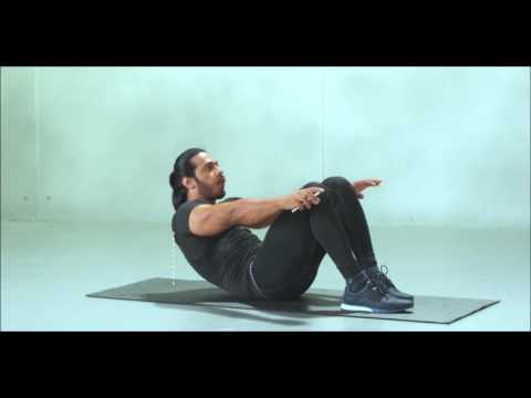 Anoop Singh Workout Series | Crunch yourself to rock hard abs