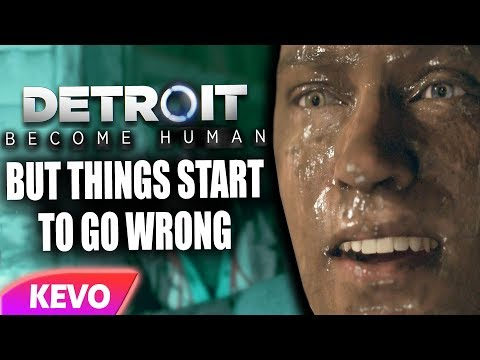 Detroit: Become Human but things start to go wrong