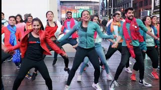Made In China Sanedo  Odhani  Bollywood Funk Nyc  Flash Mob In Times Square