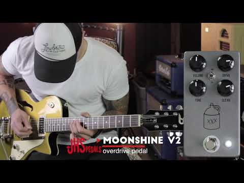 JHS Moonshine V2 - overdrive pedal demo by RJ Ronquillo